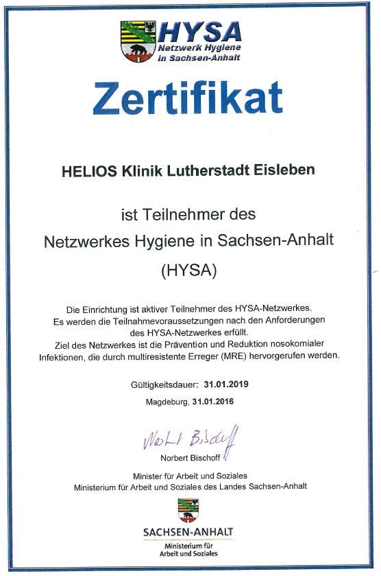 Krankenhaushygiene|Helios Klinik Eisleben