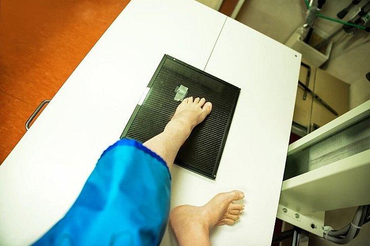 Fußzeh gebrochener Kleiner Zeh
