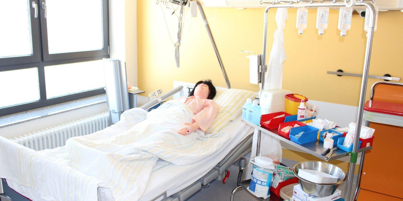 Praktisch krankenpflegeexamen Praktisches examen