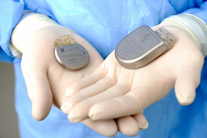Batterie Herzschrittmacher
