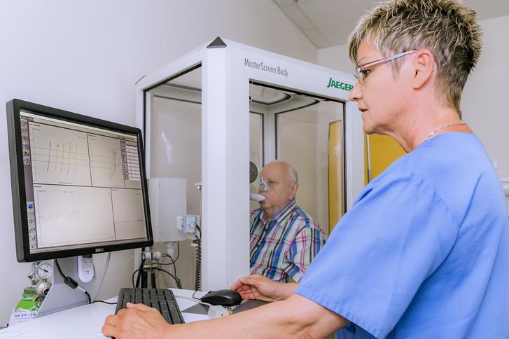 Pneumologie   Funktionsdiagnostik   Klinikum Gifhorn