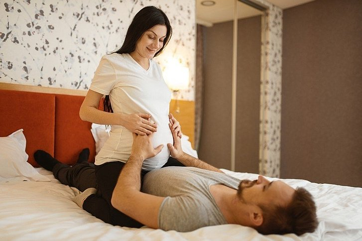 Schwangerschaft sex stellungen Babybauch: Sex