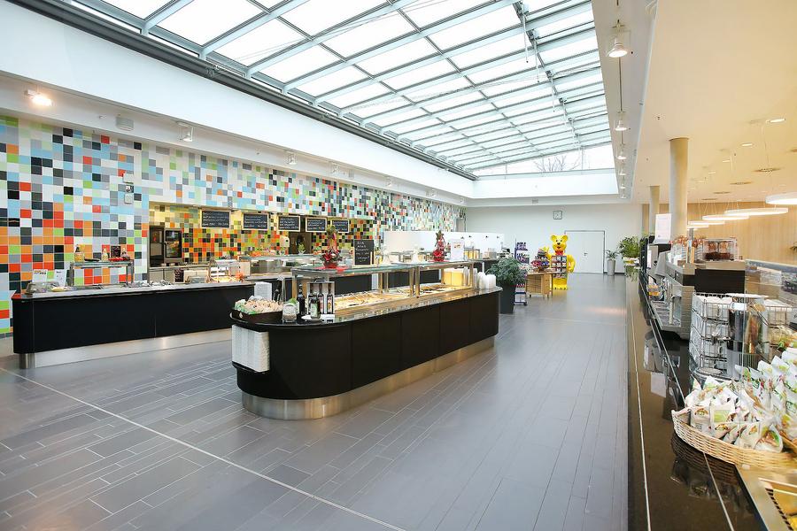 Cafeteria Und Restaurant Für Patienten Und Ihre Besucher