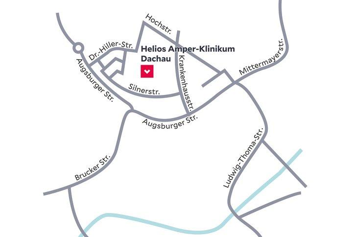 Anfahrt Und Parken Helios Amper Klinik Indersdorf