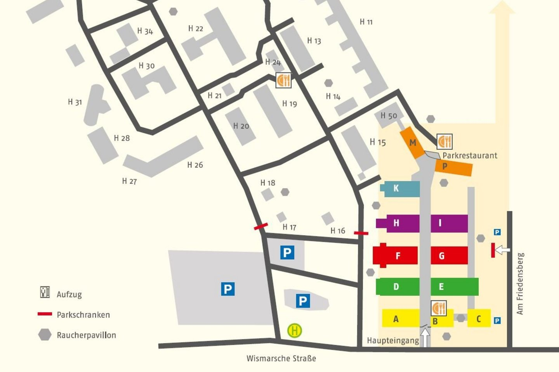 Helios Kliniken Schwerin Stationen