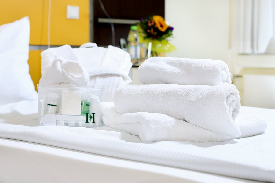Krankenhaus Handtücher
